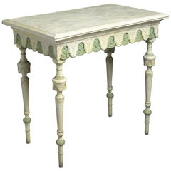 19th Century Louis-Philippe Painted Centre Table