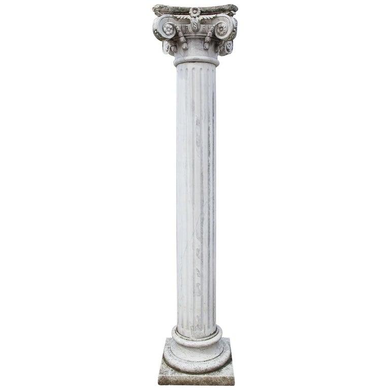 Marble Column, 20th Century