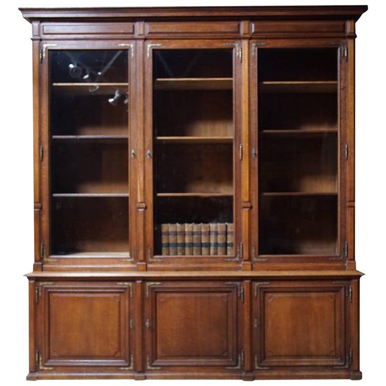 Arts & Crafts Oak Bookcase, circa 1880