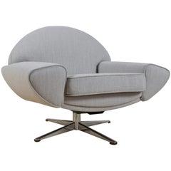 Scandinavian Modern Capri Lounge Chair by Johannes Andersen for Trensum, 1958