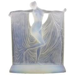 René Lalique 'Suzanne' Opalescent Glass Statuette