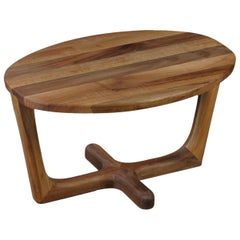 Armada Coffee Table Large, Contemporary Table in America Walnut Wood