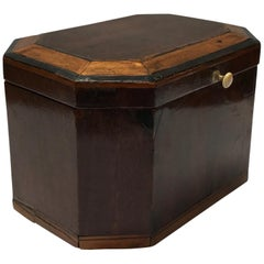 Inlaid Mahogany Box from England Circa 1790