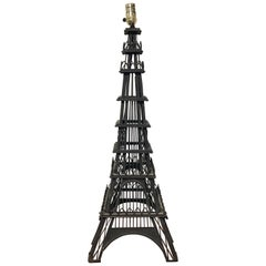 Grand Tour Model of the Eiffel Tower, Now as a Lamp