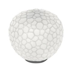 Artemide Meteorite 35 Dimmable E26 Table Lamp in White by Pio & Tito Toso