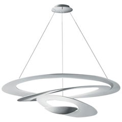 Artemide Pirce Dimmable Led Pendant Light in White, Extension by Giuseppe Mauri