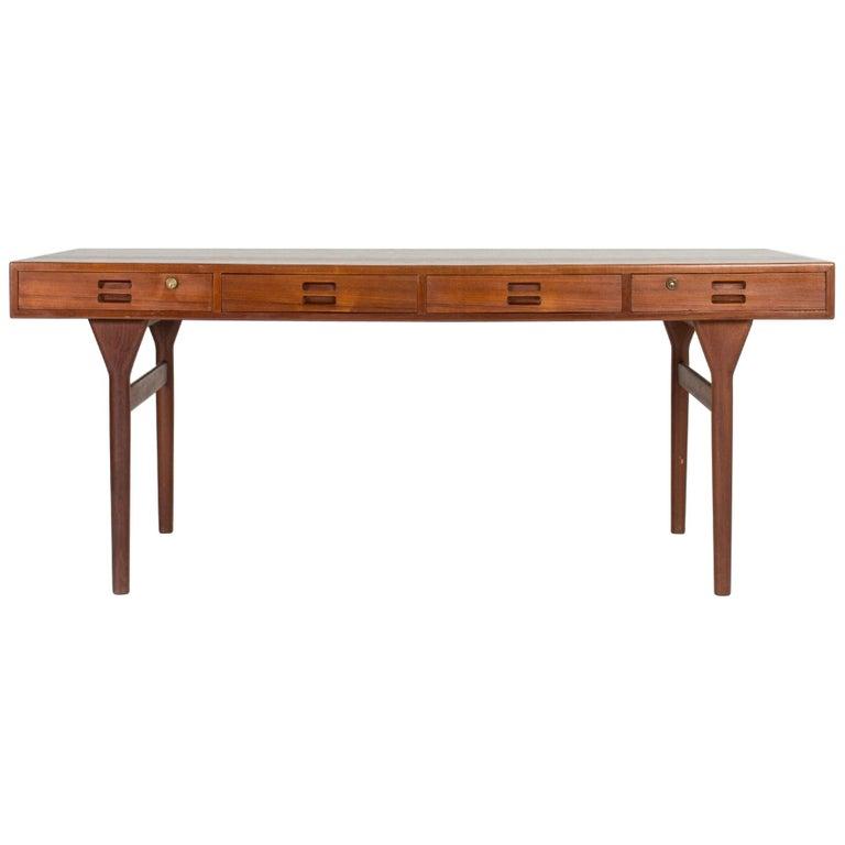 Midcentury Teak Desk by Nanna Ditzel