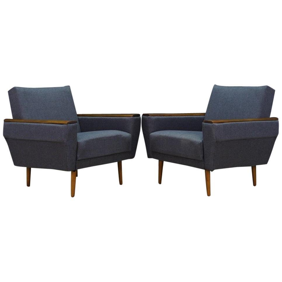 Retro Armchair Scandinavian Design Vintage For Sale