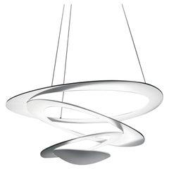 Artemide Pirce Mini Dimmable LED Pendant Light in White by Giuseppe Maurizio