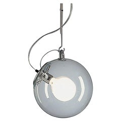 Artemide Miconos E26 Pendant Light in Chrome by Ernesto Gismondi