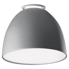 Artemide Nur Mini LED Dimmable Ceiling Light in Aluminum by Ernesto Gismondi