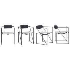 Seconda Chairs by Mario Botta for Alias, Italy, 1982