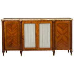19th Century French Louis XVI Style Antique Buffet Server Sideboard