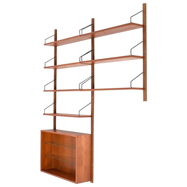 Small Poul Cadovius Royal System in Teak from the 1960s