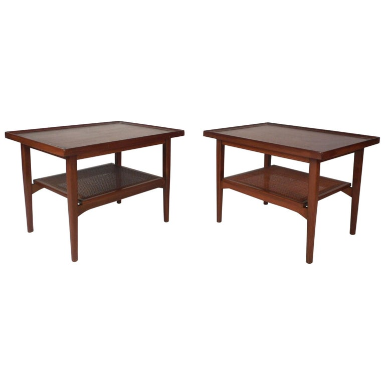 Pair of Mid-Century Modern End Tables by Drexel