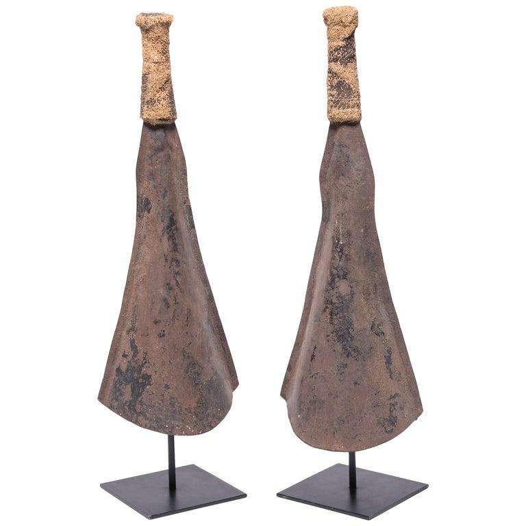 Pair of Yoruban Currency Gongs