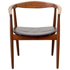 "Model ""Troja"" Armchair by Kai Kristiansen, Denmark"