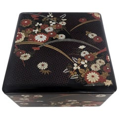 Vintage Japanese Lacquer Ware Stacked Box