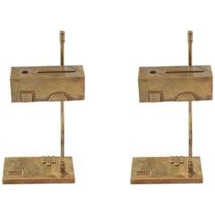 Bauhaus, Weimar Bronze Lamps