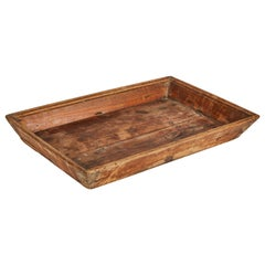 Primitive Wooden Chinese Tray from Late 19th Century China