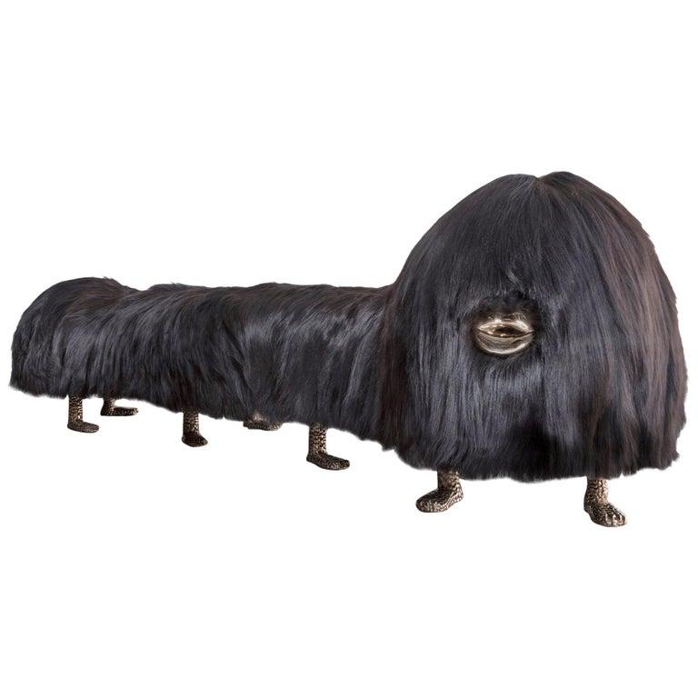 The Haas Brothers Uma Worm-an Beast bench, 2017