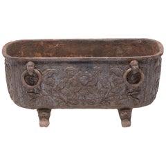 Chinese Four Seasons Cast Iron Tub