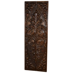 18th Century Carved Wall Panel