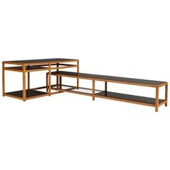 Dunbar Architectural Interlocking Tables, Model 5404, Edward Wormley
