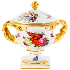 English Derby Porcelain Centerpiece, Early 19th Century 'circa 1784-1820'