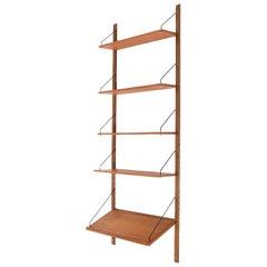 Midcentury Danish Teak Wooden Shelves