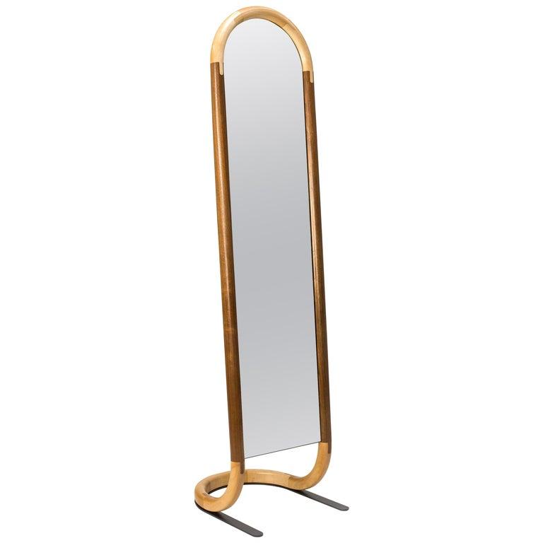 Standing Halo Mirror by Birnam Wood Studio