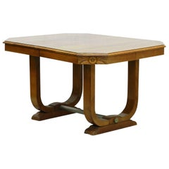 Art Deco Dining Table French Manner of Sue et Mare Desk Centre Table, circa 1930