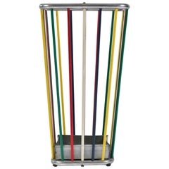 Italian 1960s Multi-Colored Umbrella Stand
