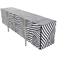 Amor Stripe 12 Sideboard by Robert and Trix Haussmann for Wogg, Original Edition