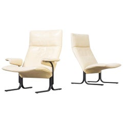 1970s Hans Eichenberger 'DS 2030' Lounge Fauteuils for De Sede