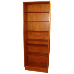 Pair of Vintage Teak Bookcases by Poul Hundevad