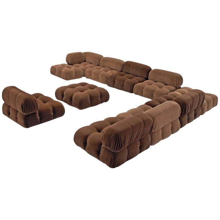 Mario Bellini Customizable 'Camaleonda' Sofa in Original Fabric