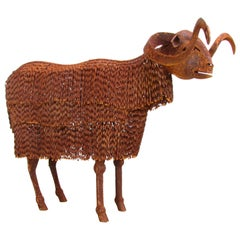 Rusty Lifesize Sheep