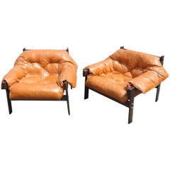Pair of Percival Lafer Style Club Chairs