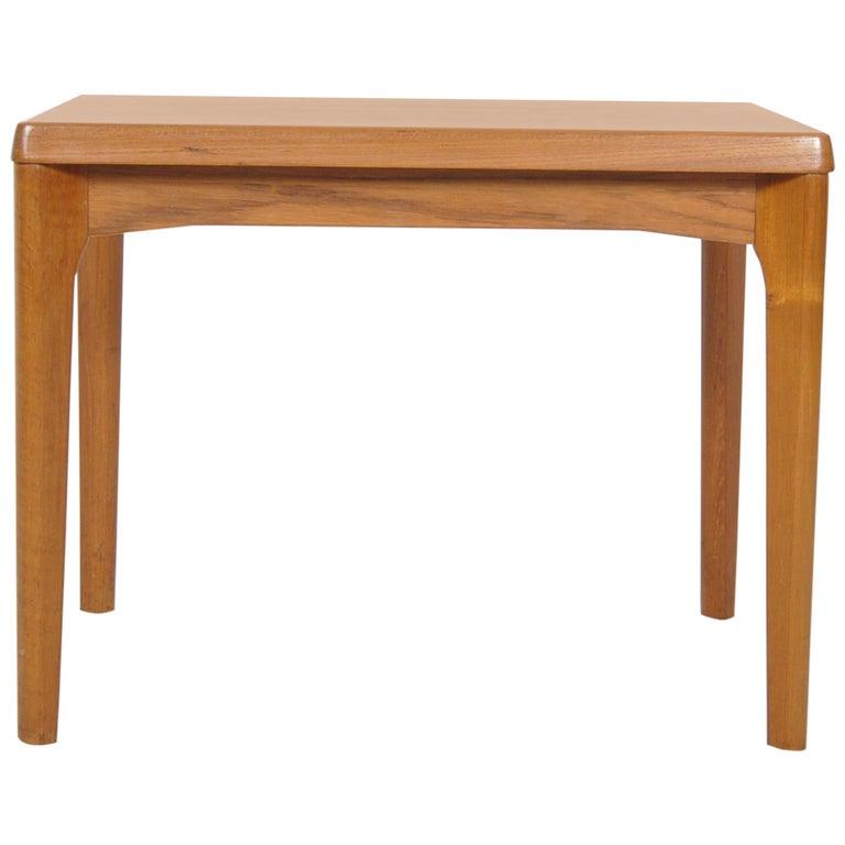 Danish Teak Side Table by Henning Kjaernulf for Vejle Stole Møbelfabrik Denmark
