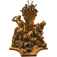 """Classical Carving G Loosbergh in """"Black Forest"""" Style"""