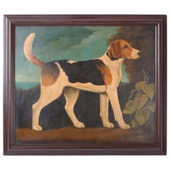 William Skilling Oil Painting of a Dog
