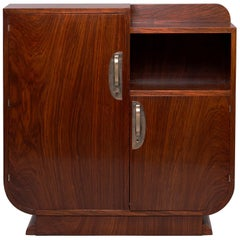 French Art Deco Rosewood Cabinet