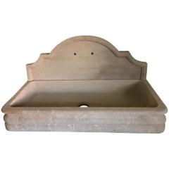 Contemporary Limestone Sink