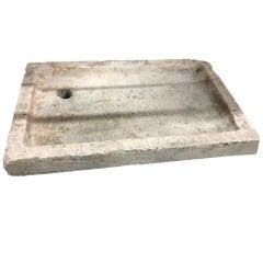 Antique French Limestone Sink