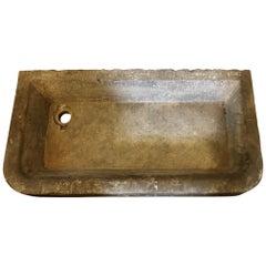 Antique Farm Sink, Trapezoid Shaped, circa 1820