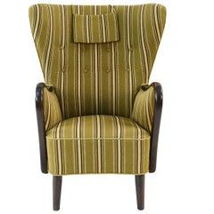 Alfred Christensen for Slagelse Møbelfabrik Danish Lounge Chair