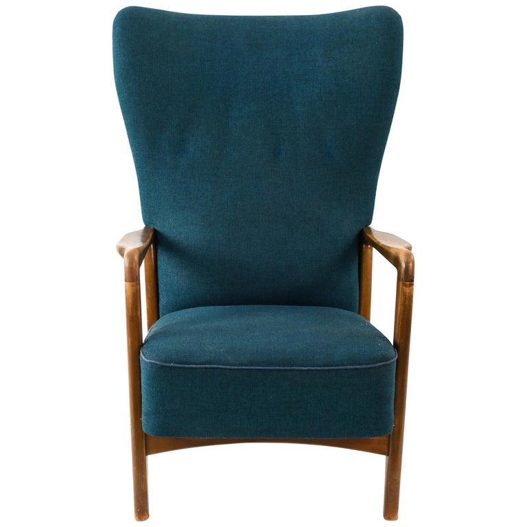 Søren Hansen for Fritz Hansen Midcentury Danish Lounge Chair