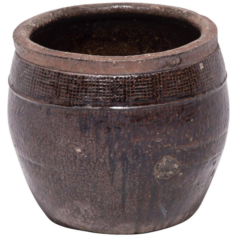 Late 19th Century Chinese Glazed Peking Vessel