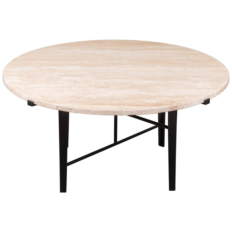 Montrose Coffee Table, Round by Lawson-Fenning For Sale